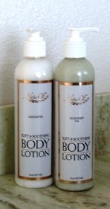 Olive oil body lotion
