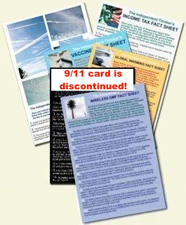 Mix of Fact Sheet cards